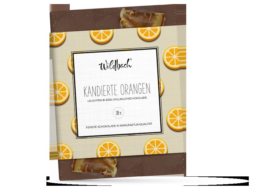 Wildbach Schokolade - Früchte und Spezielles Kandierte Orangen