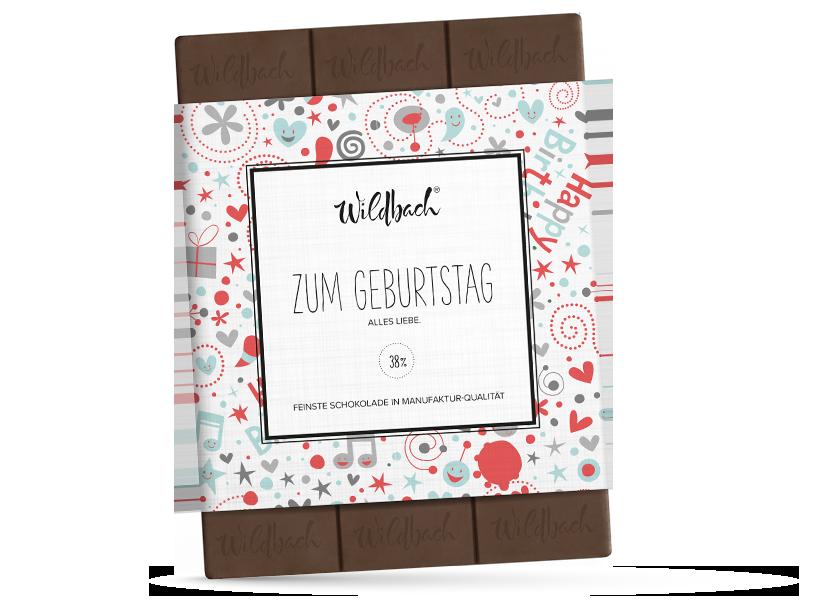 Wildbach Schokolade - Glutenfrei Zum Geburtstag