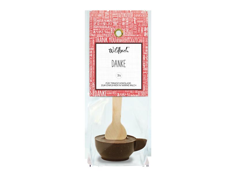 """Wildbach Schokolade - Glutenfrei Haferl """"Danke"""""""