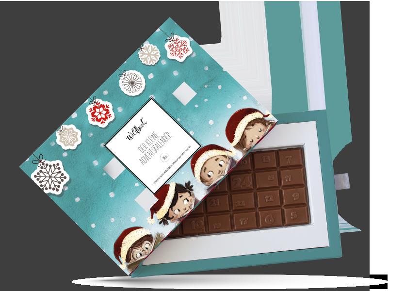 Wildbach Schokolade - Glutenfrei Der kleine Adventskalender Vollmilch