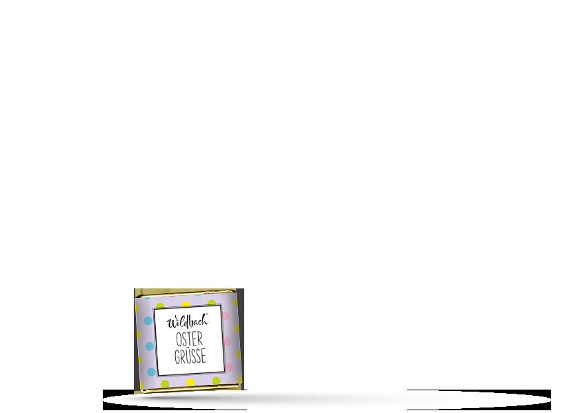 Wildbach Schokolade - Saisonschokoladen Naps – Ostergrüße