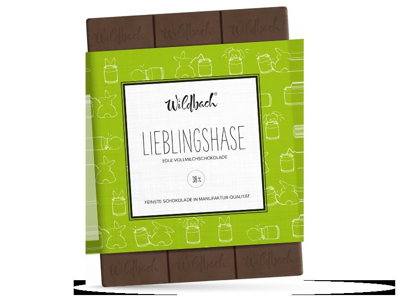 Wildbach Schokolade - Saisonschokoladen Lieblingshase