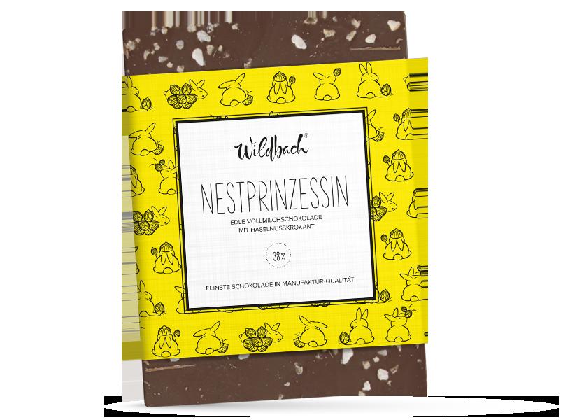 Wildbach Schokolade - Saisonschokoladen Nestprinzessin