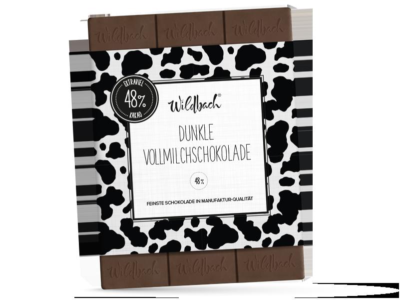 Wildbach Schokolade - Glutenfrei Dunkle Vollmilchschokolade
