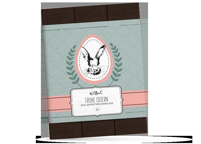 Wildbach Schokolade - Saisonschokoladen Frohe Ostern – Zartbitter