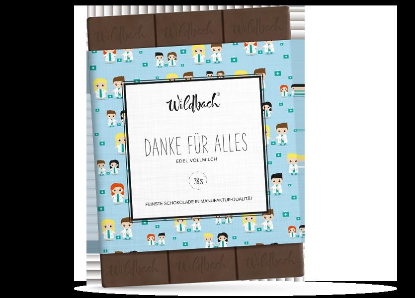 Wildbach Schokolade - Für unsere Liebsten Danke für Alles