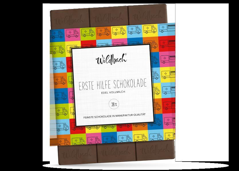 Wildbach Schokolade - Für unsere Liebsten Erste Hilfe