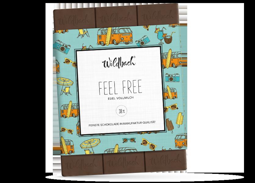 Wildbach Schokolade - Für unsere Liebsten Feel Free