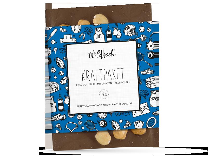 Wildbach Schokolade - Für unsere Liebsten Kraftpaket
