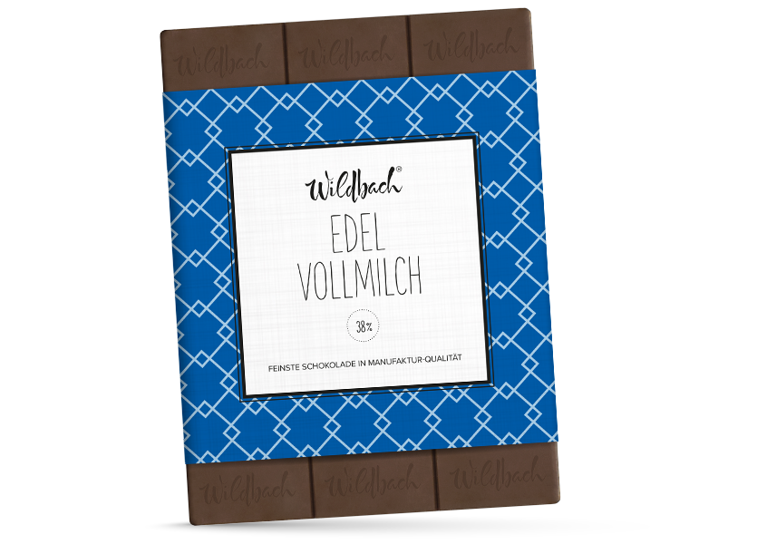 Wildbach Schokolade - Glutenfrei Edel Vollmilch