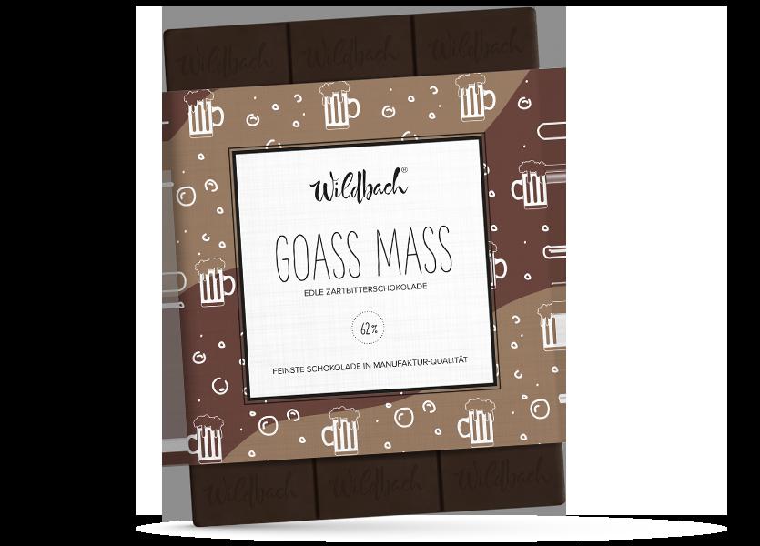 Wildbach Schokolade - Füllungen Goass Mass