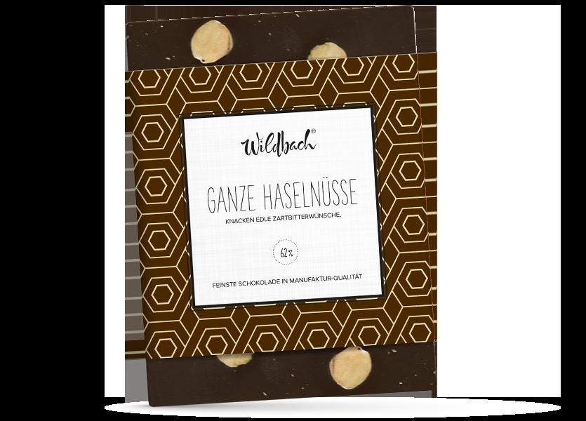 Wildbach Schokolade - Glutenfrei Haselnuss Zartbitter