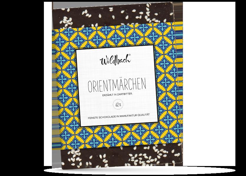 Wildbach Schokolade - Früchte und Spezielles Orientmärchen