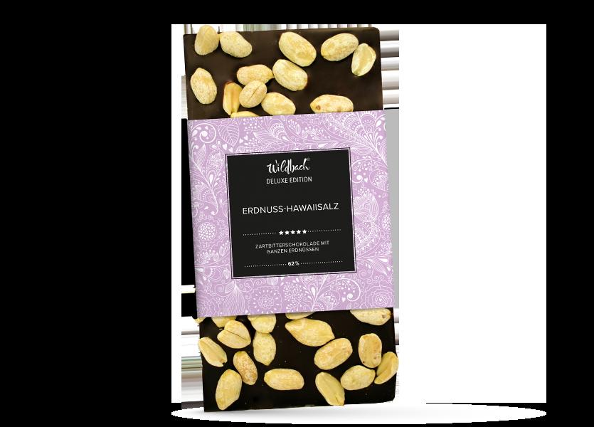 Wildbach Schokolade - Deluxe Edition Erdnuss Hawaiisalz