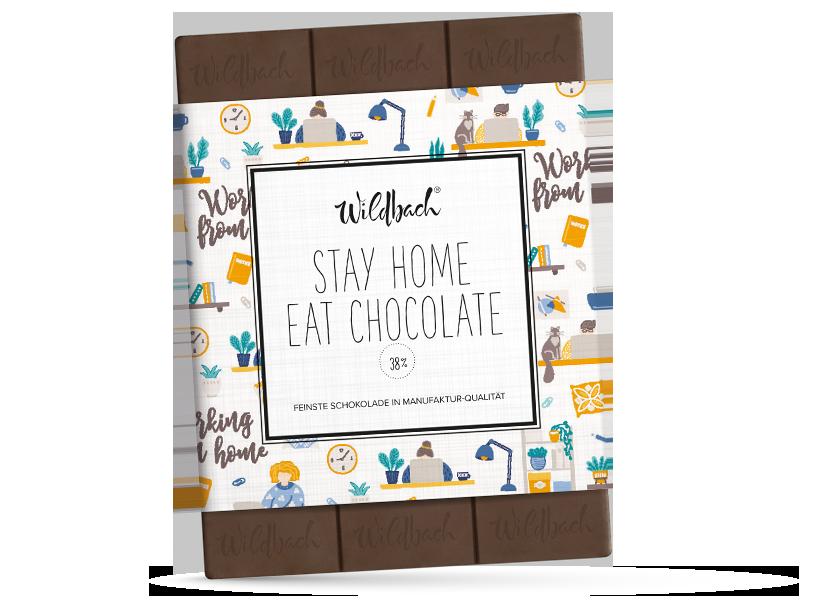 Wildbach Schokolade - Glutenfrei Stay Home – Eat Chocolate