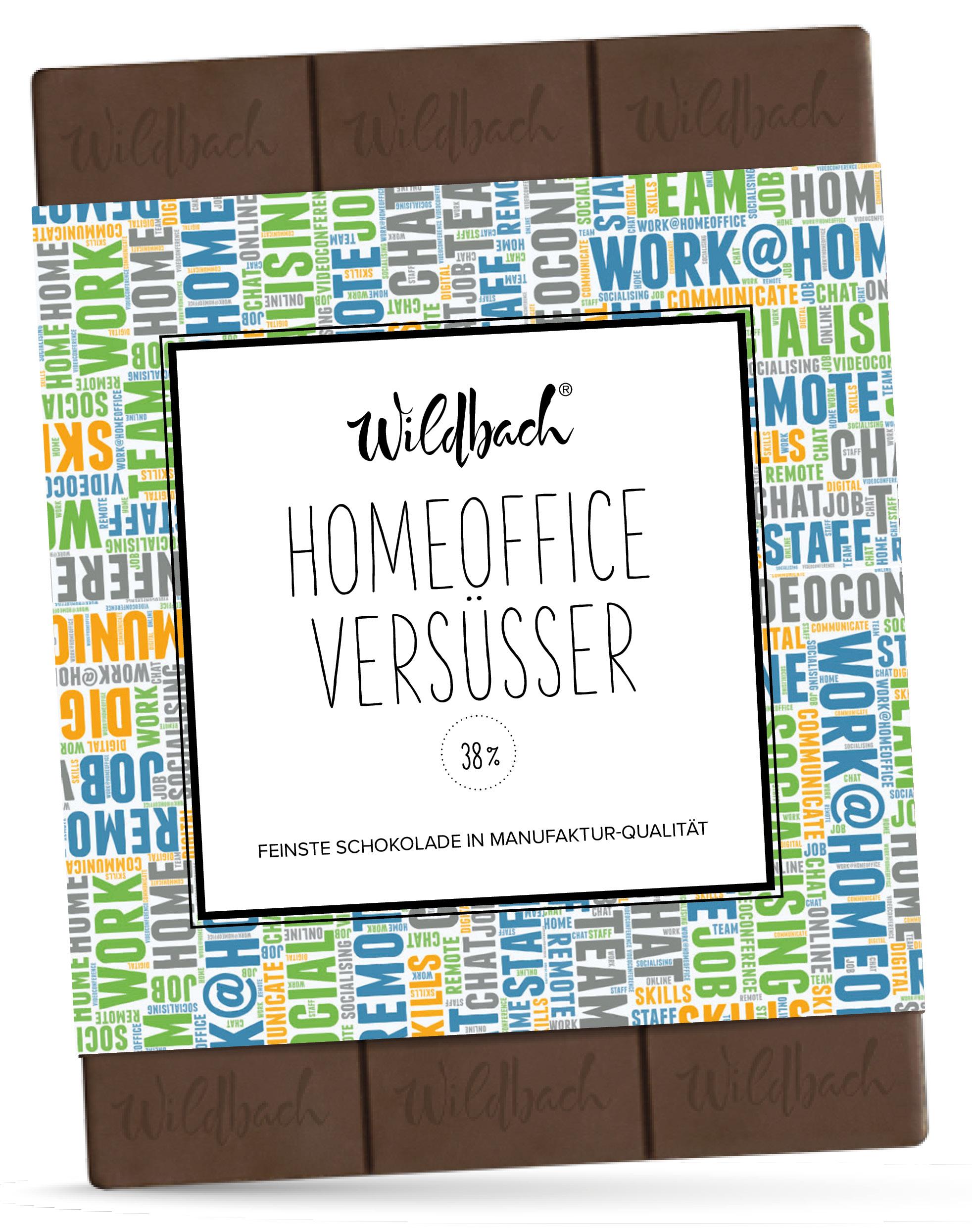 Wildbach Schokolade - Glutenfrei Homeoffice