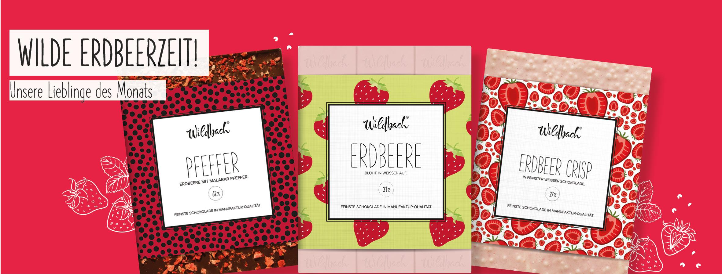Premium Schokolade; Erdbeerschokolade; Erdbeeren; Snacks