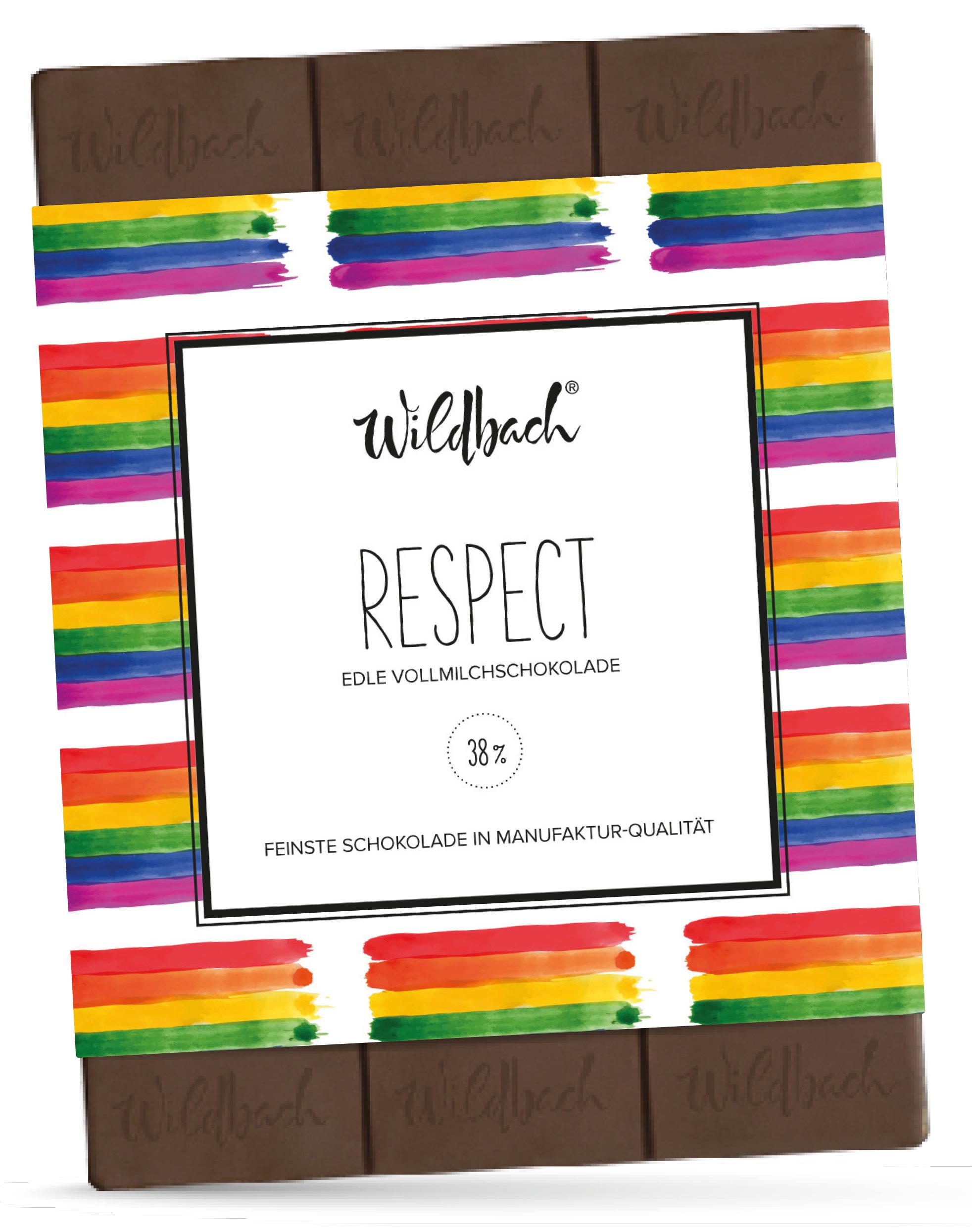 Wildbach Schokolade - Glutenfrei Respect
