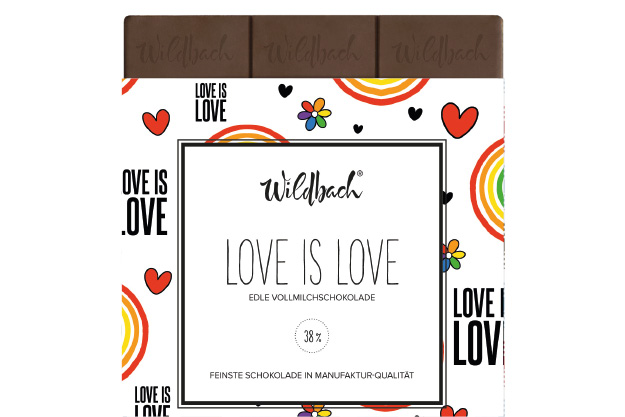 Love is Love Schokolade