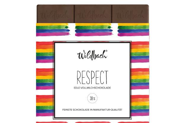 Respect Schokoladentafel