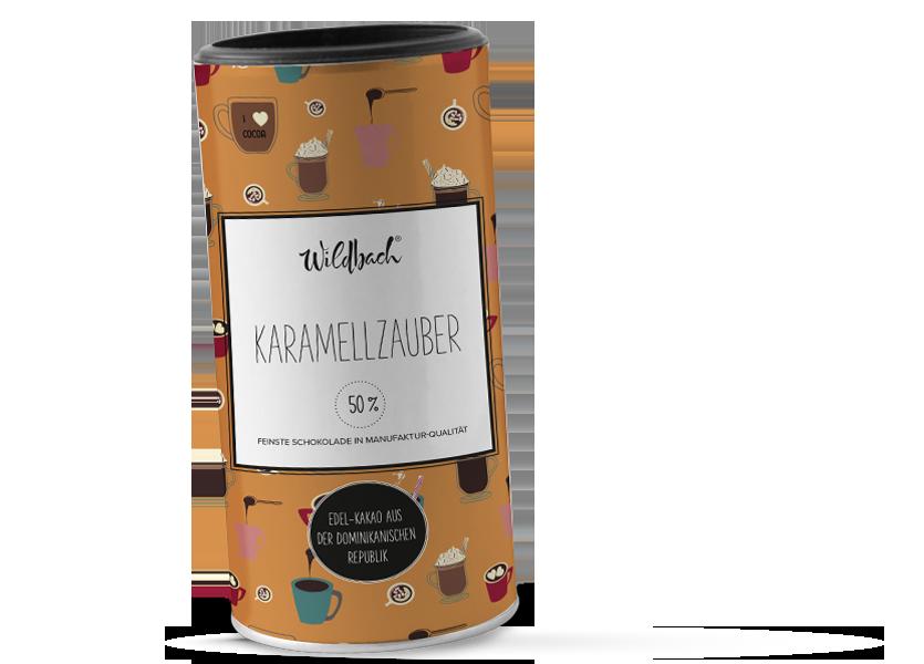 Wildbach Schokolade - Trinkschokolade Trinkschokolade Karamellzauber